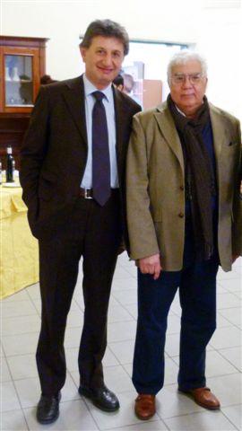 Massimo Plescia di Sdi, Soluzioni d'Impresa e David Hassan, kosher food trader