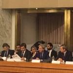 Riunita alla Farnesina la Cabina di Regia per l'Italia Internazionale, co-presieduta dai ministri Paolo Gentiloni e Carlo Calenda
