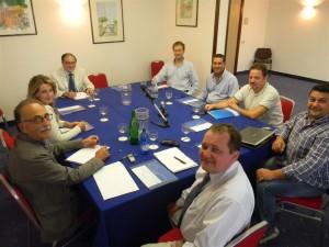 I presenti al focus: Giuliano D'Eredità, Giuseppe Scorciapino, Lillo Miceli, Mariangela Adragna, Alberto Giampino, Valerio Antonietti (Doxa), Marco Tornambè