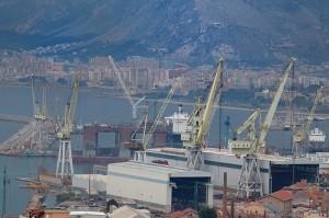 Il cantiere navale di Palermo