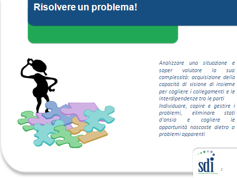Molecole di apprendimento: Come individuare il problema da risolvere?
