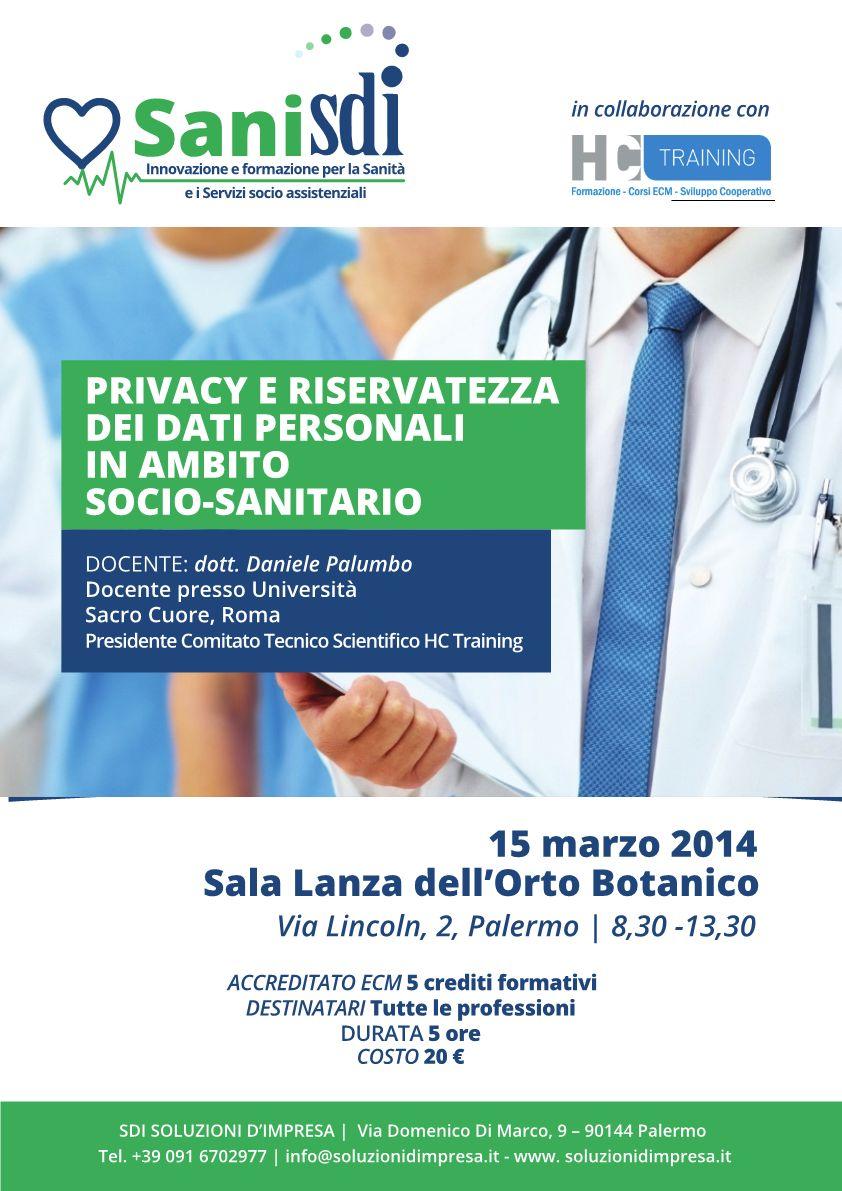 Crediti ECM dal corso Privacy e riservatezza dei dati personali in ambito socio-sanitario