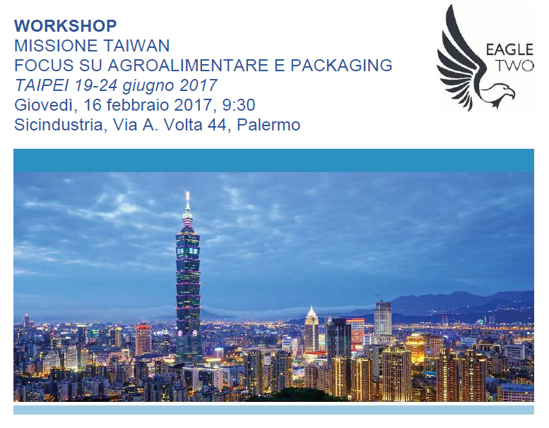WORKSHOP MISSIONE TAIWAN